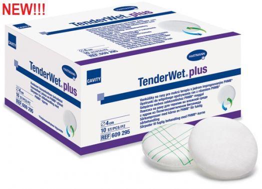 TenderWet® plus / ТендерВет плюс - суперабсорбирующие повязки ( Д 5,5 см )