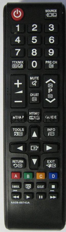 Пульт ДУ Samsung AA59-00743A ic LCD LED 3D TV