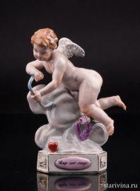 """""""Раз за разом"""", ангелочек, Meissen, Германия, 19 век"""