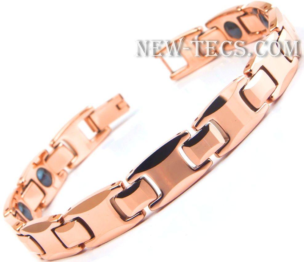 Вольфрамовый Магнитный браслет 6066GNT-Pan