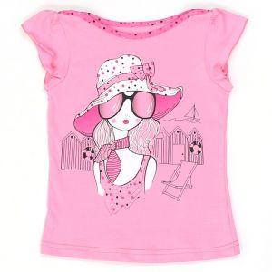 Л047 Блуза для девочки Basia Россия