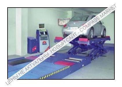 Диагностическая линия PC для автомобилей до 3500 кг, Maha (Германия)