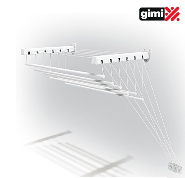 GIMI lift 160 Сушилка для белья потолочная и настенная 9,6 метров