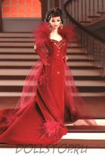 Barbie Doll as Scarlett O'Hara (Red Dress) 1994 - Коллекционная кукла Барби как Скарлетт О'Хара  в красном платье