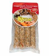 Кузя Медовые палочки для грызунов Орехи + овощи (150 г)