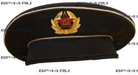 Бескозырка ВМФ СССР черная