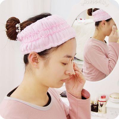 Мягкая полоска на голову для удобного умывания и нанесения макияжа