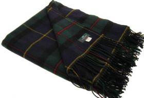 Плед 100 % стопроцентная шотландская овечья шерсть, расцветка клана МакЛауд MacLeod of Harris Modern