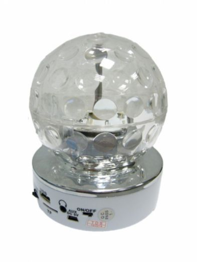 Портативная акустика MP3 Орбита SK-70 Диско шар