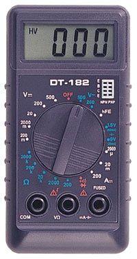 Мультиметр МD182 (цифр+тест)