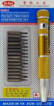 Набор отверток для ремонта электроники YX-8018