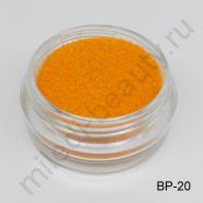Бархатный песок, BP-20, светло-оранжевый