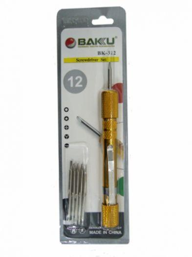 Набор отверток для ремонта электроники BAKU-312 *