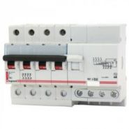 Дифференциальный автомат Legrand 4-полюсный 300mA/50А-AC-7М