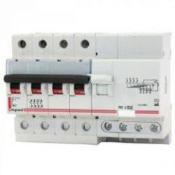 Дифференциальный автомат Legrand 4-полюсный 30mA/63А-AC-7М