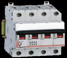 Модульный выключатель Legrand 4-полюсный 125А 4M