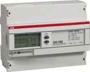 Счетчик электроэнергии ABB трехфазный, однотарифный, кл.точности 1, трансформаторного включ 1(6)А