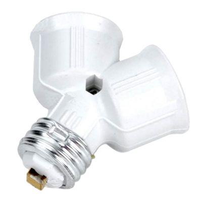 Переходник для LED ламп Огонёк AC-01 (E27 на 2*E27)