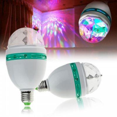 Лампа LED RGB, вращ. Огонёк LD-120