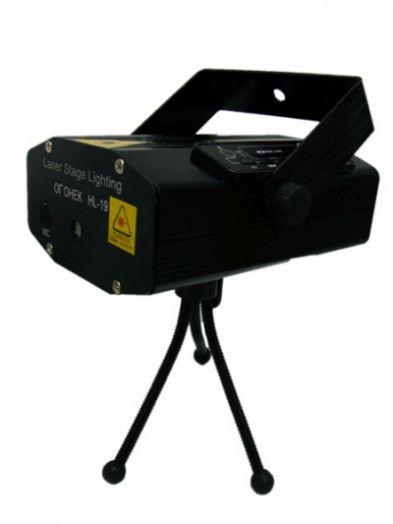 Огонёк HL-19 лазерная установка c MP3*