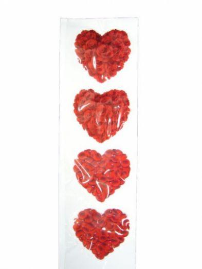 Стикер LD-23 LED наклейка сердце
