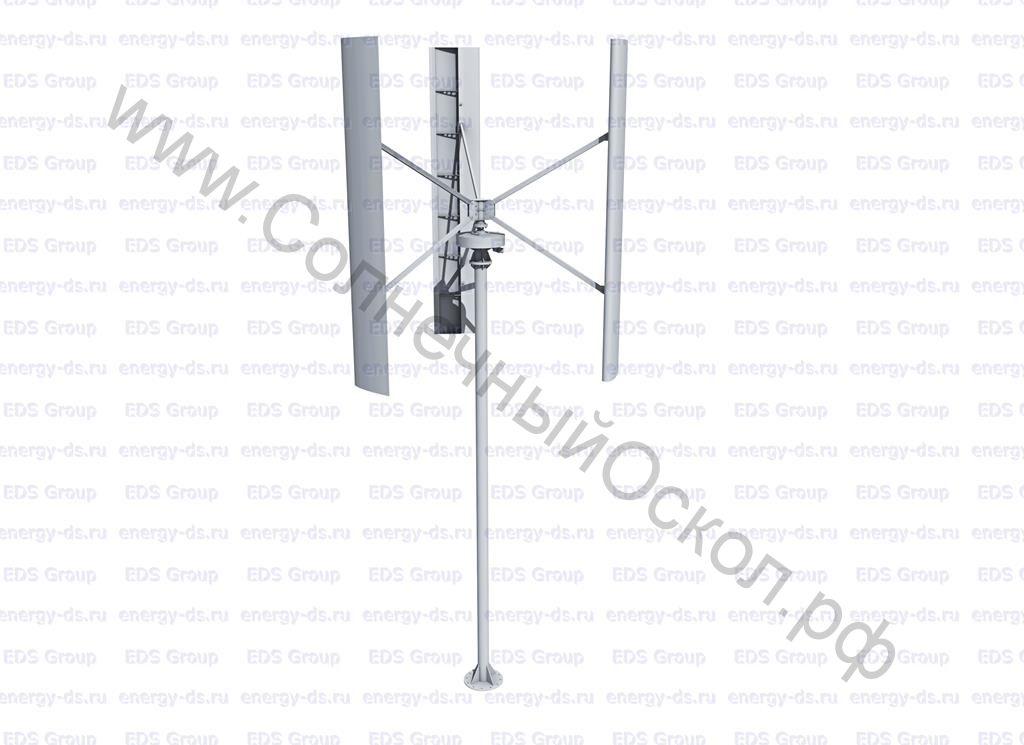 Вертикально-осевой ветрогенератор «Falcon Euro» - 7,5 кВт