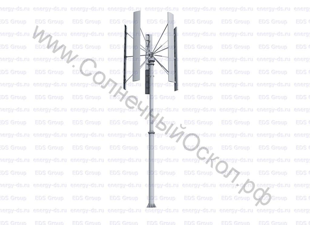 Вертикально-осевой ветрогенератор «Falcon Euro» - 20 кВт