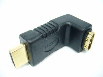 Переходник гнездо HDMI - штекер HDMI угловой Орбита TD-211