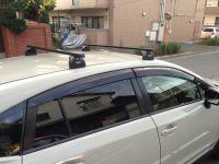 Багажник на крышу Subaru XV, Thule, стальные прямоугольные дуги Squarebar