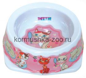 Миска для кошек пластик