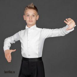 """Рубашка фрачная для мальчика с """"уголками"""""""