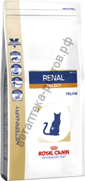 Royal Canin для кошек Renal Select