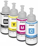 Контейнер с чернилами (картридж) для Epson L100, L110, L120, L1300, L132, L200, L210, L222, L300, L312, L350, L355, L362, L366, L456, L550, L555