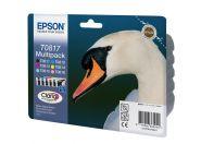 Экономичный набор из 6 картриджей для Epson Stylus Photo 1410, R290, R295, RX610, RX615, RX690, T50, T59, TX659, TX800FW