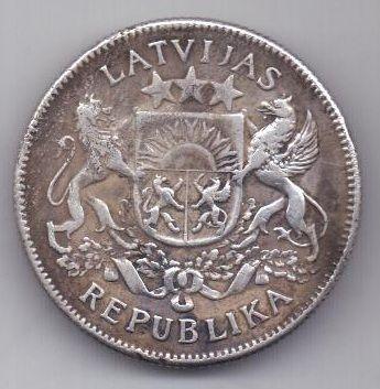 2 лата 1925 г. Латвия
