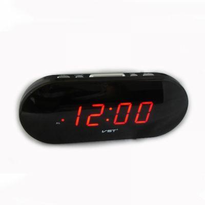 VST715-1 часы 220В крас.цифры