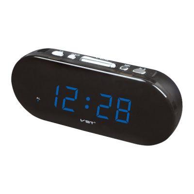 VST715-5 часы 220В син.цифры
