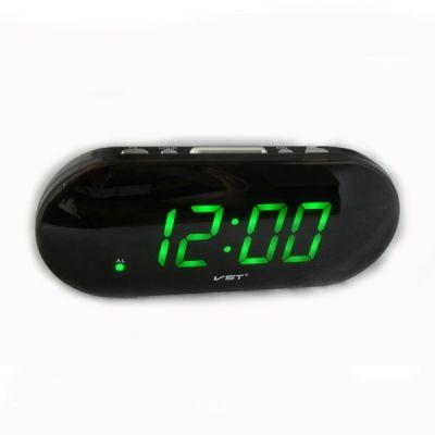 VST717-4 часы USB зел.цифры