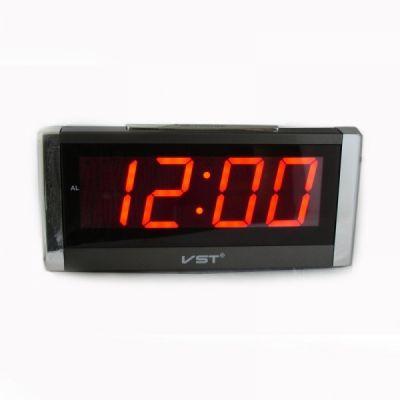 VST731-1 часы 220В крас.цифры