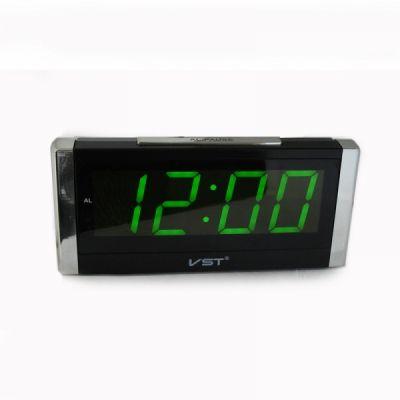 VST731-4 часы 220В зел.цифры