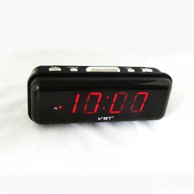 VST738-1 часы 220В крас.цифры