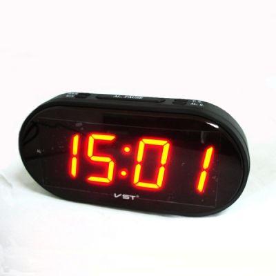 VST801-1часы 220В крас.цифры *