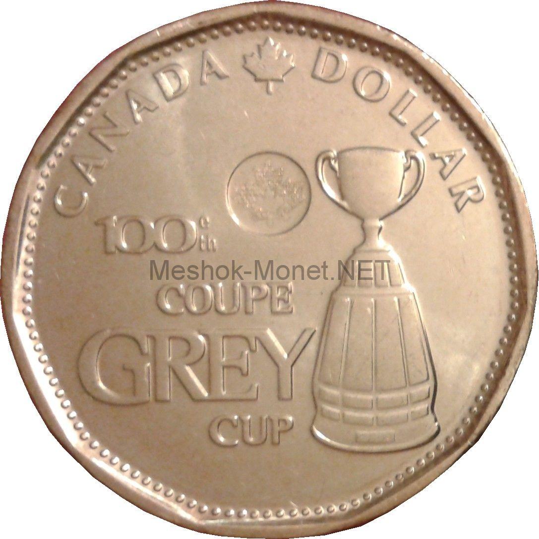 Канада 1 доллар 2012 год Кубок Грея