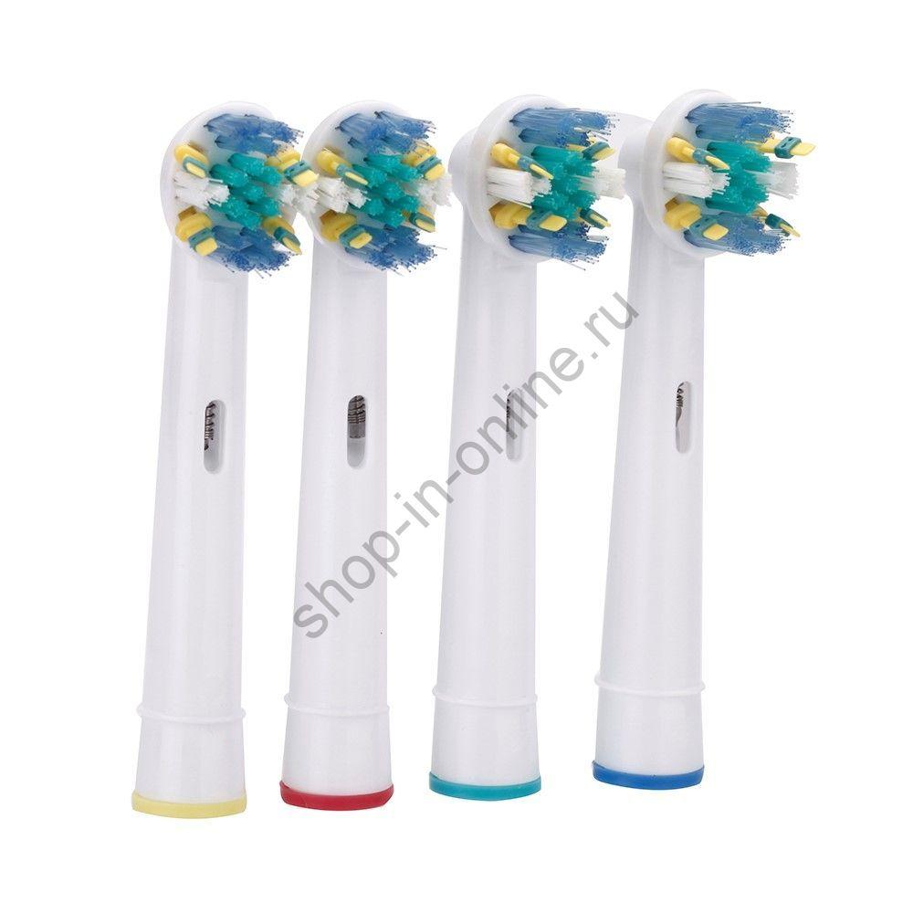 Сменные головки для электрической зубной щётки Oral-B 4шт./компл.