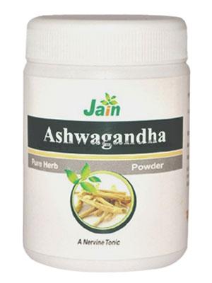 Ашваганда чурна для нервной системы Джайн Аюрведик / Jain Ayurvedic Ashwagandha Churna