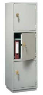 КБ - 033 / КБС - 033  Металлический бухгалтерский шкаф