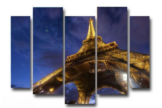 Модульная картина Башня в Париже