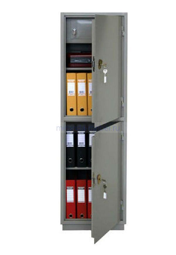 КБ - 032т / КБС - 032т Металлический бухгалтерский шкаф