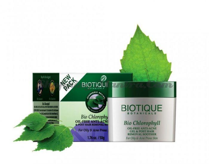 Крем после эпиляции Биотик Хлорофилл | Biotique Bio Chlorophyll Face Cream
