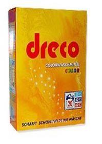 Dreco концентрированный стиральный порошок для цветного белья, 3 кг